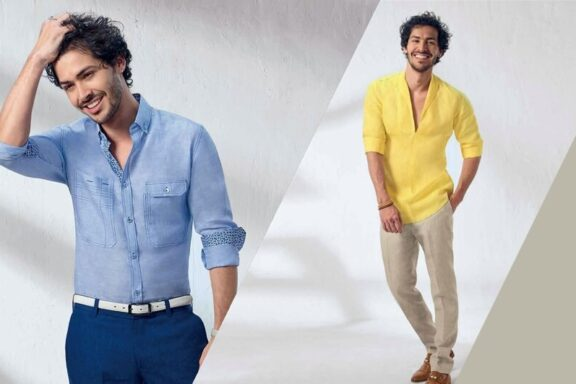 Keep the Scorching heat away with Linen Shirts